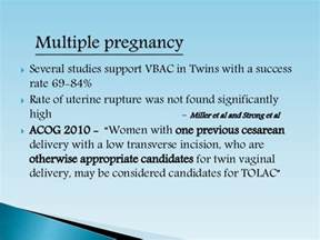 Vbac After 2 C Sections Acog by Birth After Cesarean Delivery