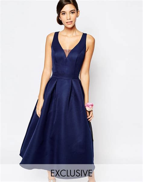 Snchi Chi chi chi navy prom dress all the dresses