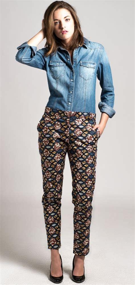 mode africaine un joli model de pagne wax leuk sngal pantalon cigarette en wax africain n 176 5 shorts shorts en
