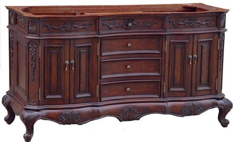 72 Inch Bathroom Vanity Sink by 72 Inch Sink Bathroom Vanity With Antique Brown Finish And Counter Top Uveil724472