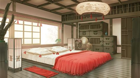 wallpaper anime room koujaku s room full hd wallpaper and background image