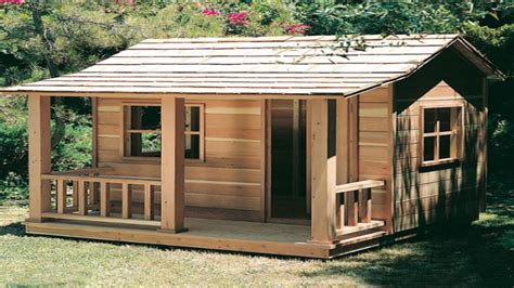 wooden playhouse plans elevated playhouse plans build