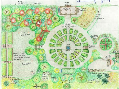 mandala garden design initial layout parkdale community garden and gathering space parkdale
