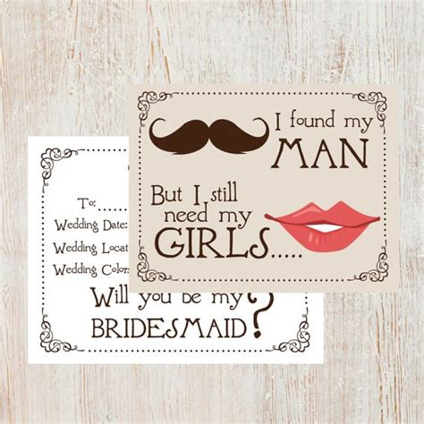 will you be my bridesmaid template will you be my bridesmaid cards ultimate bridesmaid
