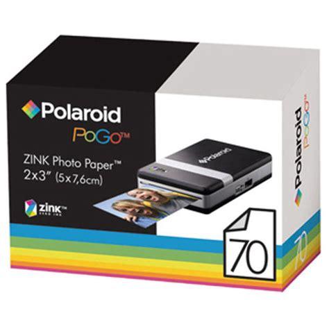 polaroid paper buy polaroid zinc paper for the polaroid pogo printer pk