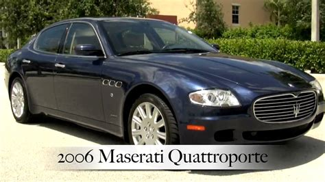 blue maserati quattroporte 2006 maserati quattroporte neptune blue a2340 youtube