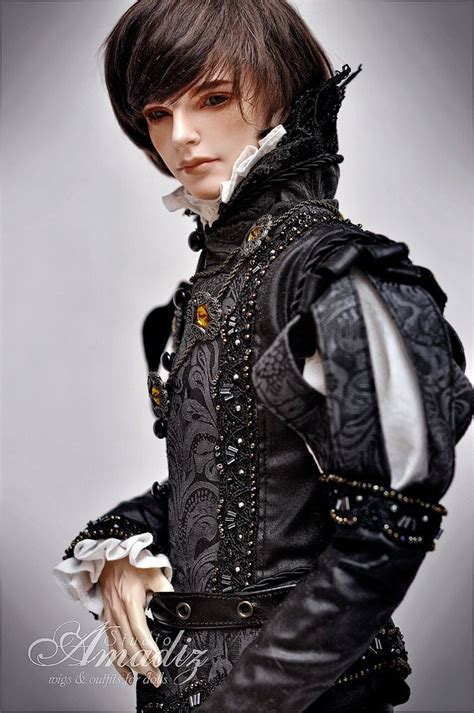 jointed doll costume one bjd quot black prince quot prince