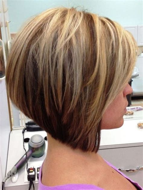 medium bob hairstyles with stacked layers stacked inverted bob hairstyles stacked layered bob