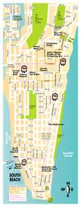 South Beach Miami Map by South Beach Map Pictures To Pin On Pinterest Pinsdaddy