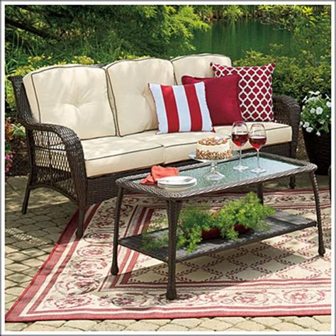 wilson and fisher patio furniture wilson fisher patio furniture replacement cushions