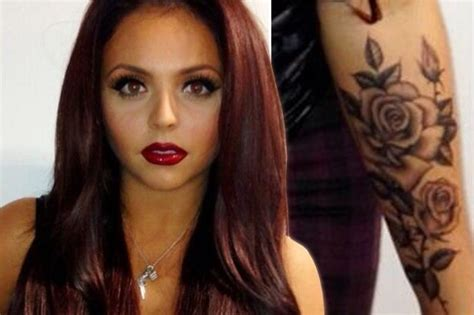 cheryl cole wrist tattoo jesy nelson mix singer copies cheryl cole