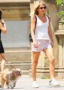kelly ripa in shorts out and about in new york hawtcelebs kelly ripa in shorts out in new york city