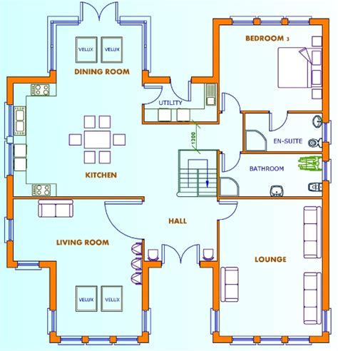 home design plans uk pdf 5 bed house plans uk plans free