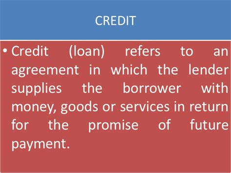 Formal Sector Credit In India Ppt Money And Credit Cbse Class X