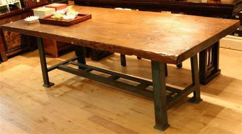 Industrial Style Kitchen Tables Custom Made Industrial Style Working Dining Table By With Dining Table Industrial Style
