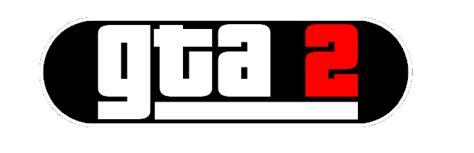 Grand Theft Auto 2 Logo by Grand Theft Auto 2 Rockstar Mag