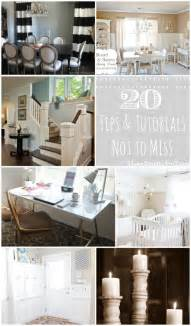 Home Decorating Basics 20 Tutorials And Tips Not To Miss Diy Projects Home
