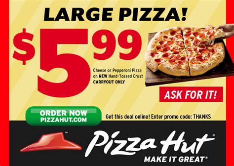 free printable coupons pizza hut coupons