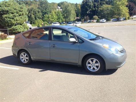 2005 toyota prius gas mileage buy used 2005 toyota prius electric hybrid up to 60 mpg