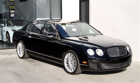 2009 bentley flying spur 2009 bentley continental flying spur speed stock 6025