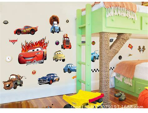 childrens removable wall stickers disney car lightning mcqueen wall decals removable stickers decor ebay