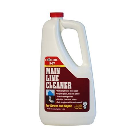 Drain Line Cleaner Drain And Line Cleaner Roebic K 97 1 8 Litre