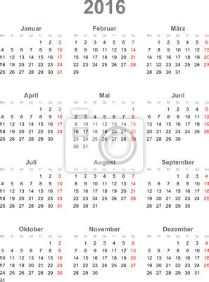 kalendarz 2016 do wydruku wall mural kalender 2016 vector calendar pixersize com
