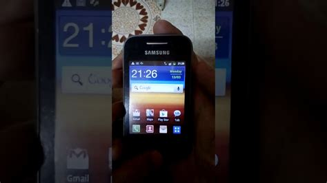 reset samsung s5360 how to reset samsung galaxy y gt s5360 youtube
