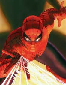 Alex ross art spiderman