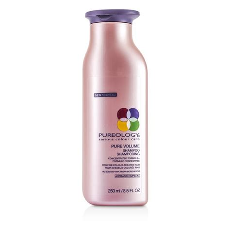 other volumizing shoos for colour teated hair pureology pure volume shoo 250ml cosmetics now uk