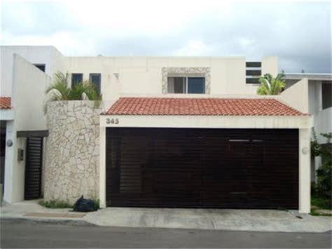 fachadas de garage casas mexicanas fachada de casa moderna