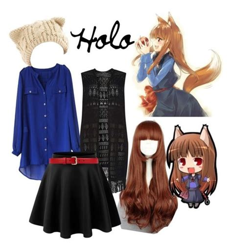 Id 0226 Anime Gray Cardigan Sweater holo spice and wolf by fem satan on polyvore featuring polyvore fashion style dorothy