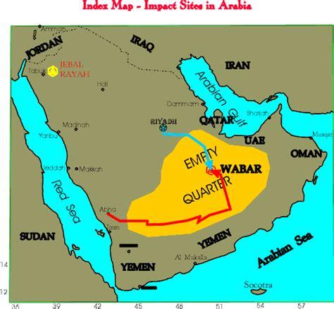 middle east map rub al khali desert empty quarter place space and landscape