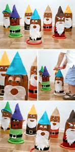 Of course the kids loved playing the seven dwarf ring toss as well