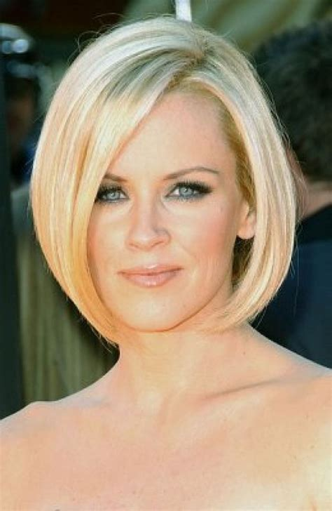 jenny mccarthy long angled bob hairstyle 2016 most favorable hairstyles for your face shape
