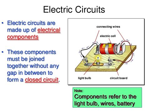 electric circuit definition electricity ppt