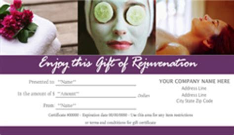 spa day gift certificate template spa gift certificate template new calendar template site
