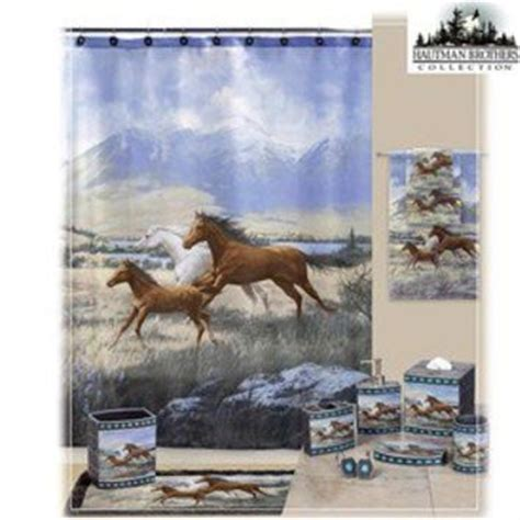 horse themed bathroom kids shower curtains kids fabric shower from