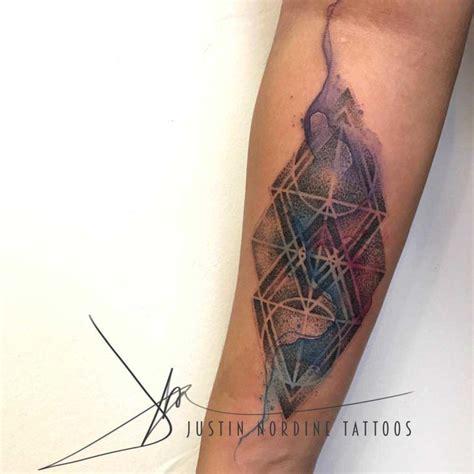 tattoo geometric watercolor geometric watercolor tattoo best tattoo ideas gallery