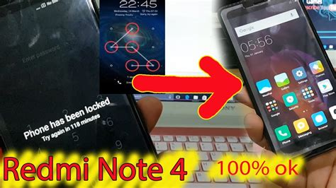 pattern unlock mi note 4 how to flash xiaomi redmi note 4 and hard reset pattern