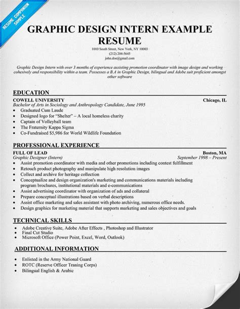 Graphic Design Sle Resumes graphic design resume exles graphic designer resume sle