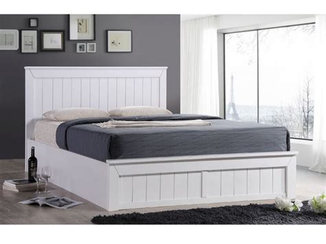 White Wooden Ottoman Bed Sweet Dreams Chandler 4ft Small White Wooden Ottoman Bed Frame By Sweet Dreams