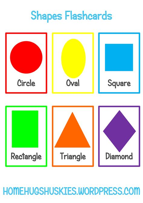 free printable learning shapes learning shapes