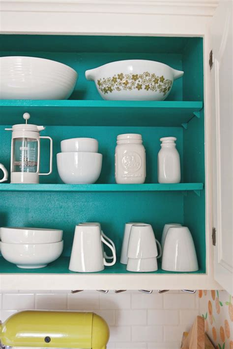 painting the inside of kitchen cabinets eatwell101 home tour elsie s kitchen a beautiful mess