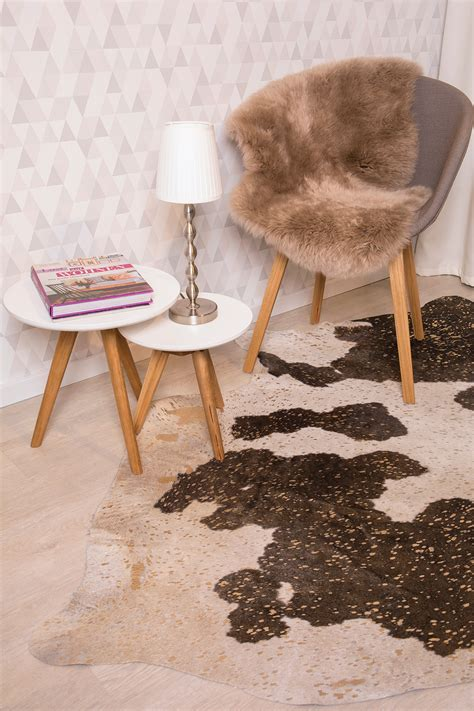 rinderfell teppich rinderfell teppich stunning kuhfell orea graubeige