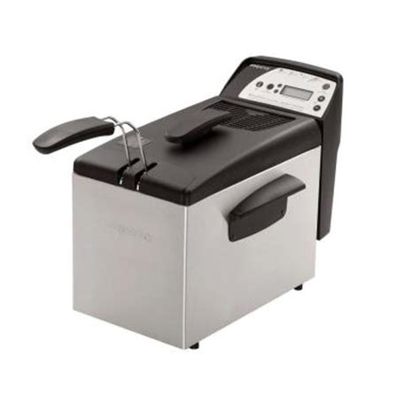 presto digital pro fry fryer 05462 the home depot