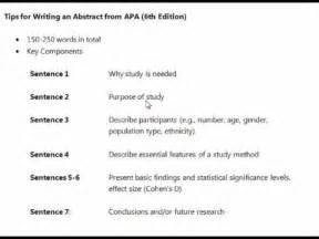 thesis abstract tips writing an abstract tips youtube