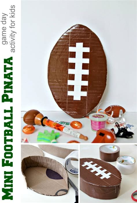 How To Make A Paper Mache Football - diy football pi 241 ata day activity for