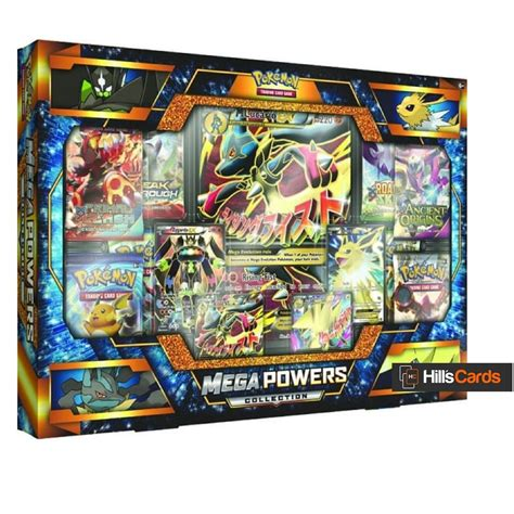 Gift Card Pack - pokemon tcg mega powers collection box booster packs promo cards 163 44 95