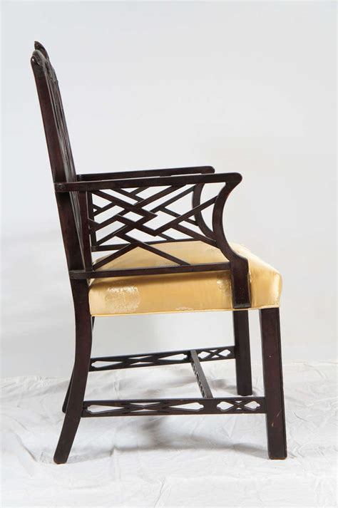 chinese chippendale style arm chair  sale  stdibs